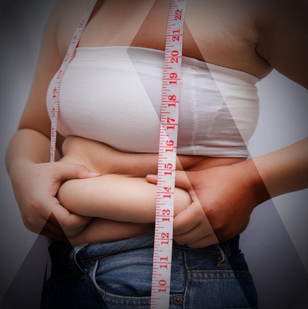 überschüssiges Fett